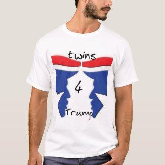 La camisa de los hombres de Twins4Trump