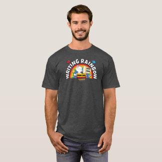 La camisa de los hombres del arco iris de la