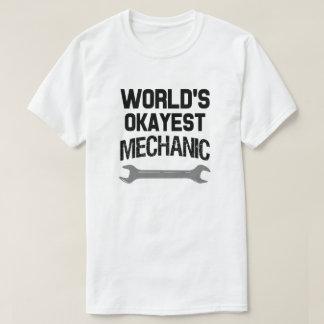 La camisa de los hombres del mecánico de Okayest