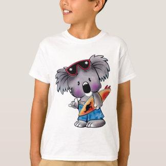 La camisa de los niños de la koala de la resaca de