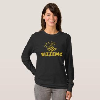 La camisa de manga larga de las mujeres de Bizzemo