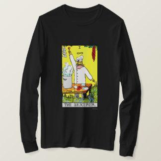 La camisa de manga larga de Saucerer