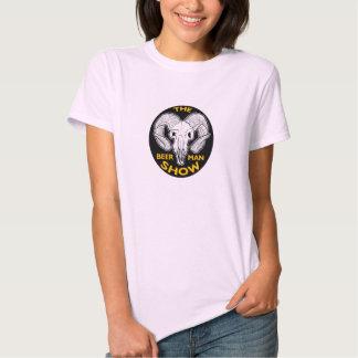La camisa del cráneo de la cabra de las señoras de