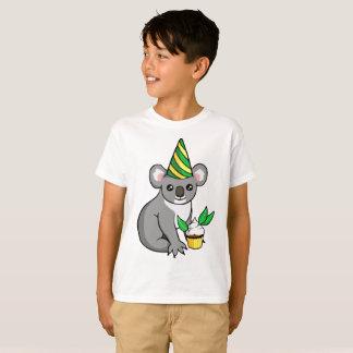 La camisa del cumpleaños de la koala de la