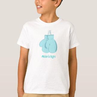 La camisa del niño de la lucha de Aidan