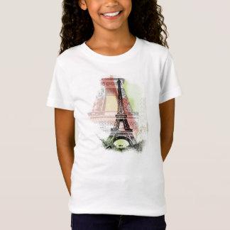 La camisa del niño de la torre Eiffel