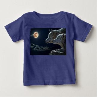 La camisa del niño del lobo 12 meses de Luna Llena