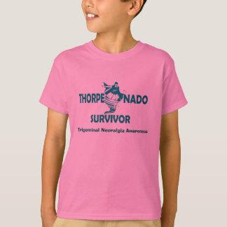 La camisa del niño del superviviente de Thorpenado