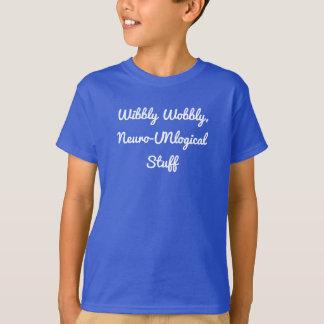 La camisa del niño Neuro-UNlogcial tembloroso de