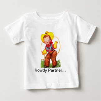 La camisa del niño pequeño del Cowpoke de Lil
