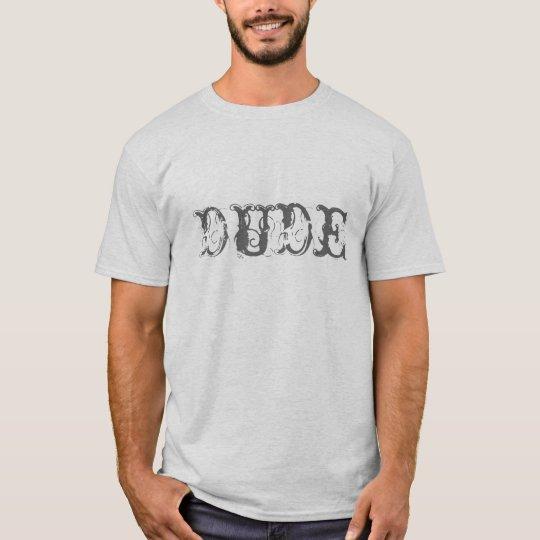 La camisa del tipo