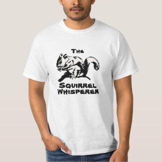 La camisa del Whisperer de la ardilla