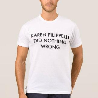 La camisa Karen Filippelli de la oficina no hizo