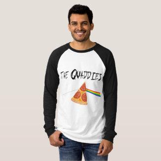 La camisa Largo-envuelta de los hombres de
