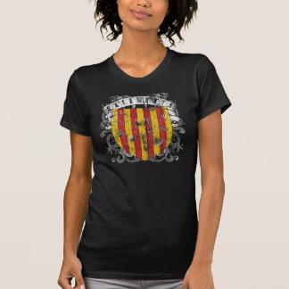 La camisa oscura de las mujeres de Cataluña
