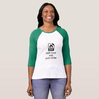 La camisa perfecta de los diseñadores de Autocad