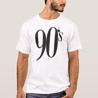 La camiseta 1990-1999 de los años 90