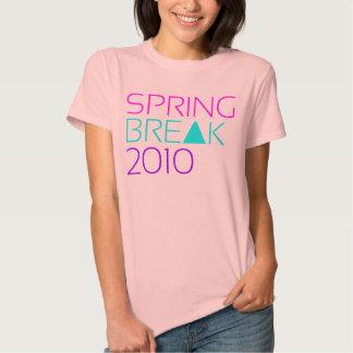 La camiseta 2010 de la mujer de las vacaciones de