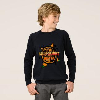 La camiseta americana de los niños enojados del