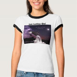 La camiseta anillada de las mujeres de Lolita