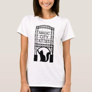 La camiseta básica de la ciudad de las mujeres