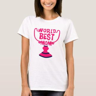 La camiseta básica de las mejores de la mamá del