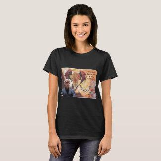La camiseta básica de las mujeres audios de la