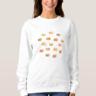 La camiseta básica de las mujeres de la calabaza