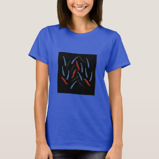 La camiseta básica de las mujeres de las ramas