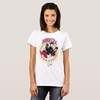 La camiseta básica de las mujeres de Monroe del