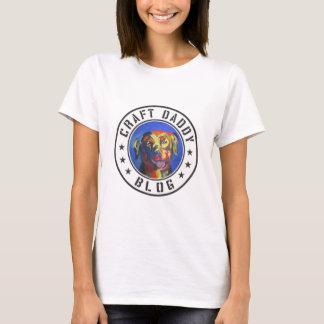 La camiseta básica de las mujeres del logotipo del