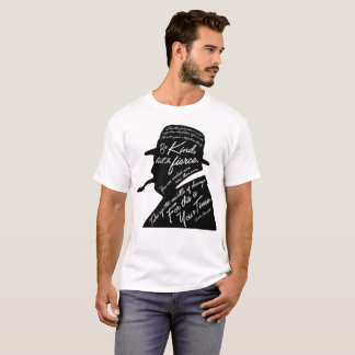 La camiseta básica de los hombres de Churchill