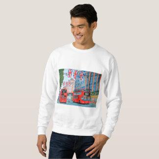 La camiseta básica de los hombres de la calle de
