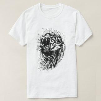 La camiseta básica de los hombres del tigre