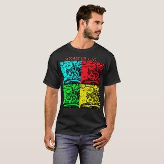 La camiseta básica de los hombres negros -