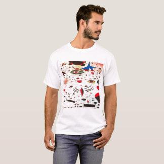 la camiseta básica del ojo de los hombres de moda