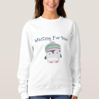 La camiseta básica para de las mujeres de la nieve