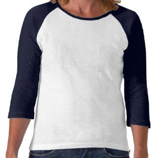 La camiseta blanca de las mujeres de canalización
