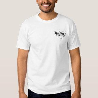 La camiseta blanca de los hombres frecuentados de