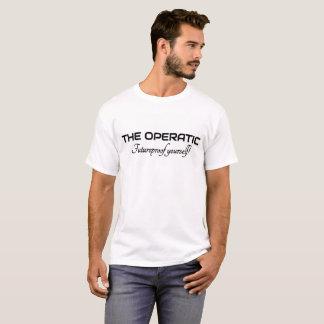 La camiseta blanca operística