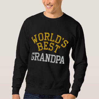 La camiseta bordada el mejor abuelo del mundo
