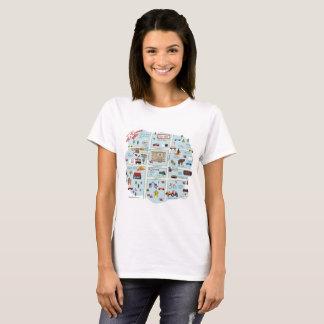 La camiseta céntrica de McKinney Tejas