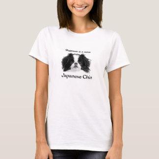 La camiseta clásica de las mujeres de Chin del