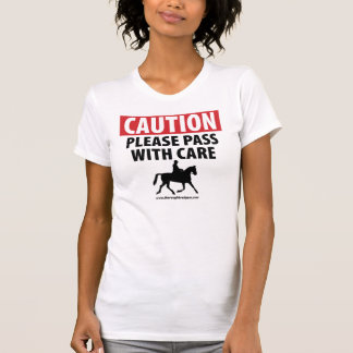 La camiseta clásica de las mujeres del jinete del