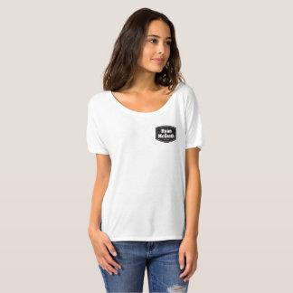 La camiseta cómoda de Ryan McGrath de las mujeres