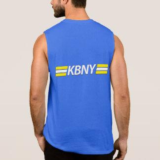 La camiseta cortada de los hombres de KBNY