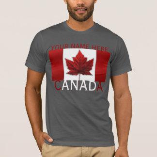 La camiseta de Canadá personalizó SM - camisa de
