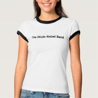 La camiseta de Dixie de la mujer rebelde de la