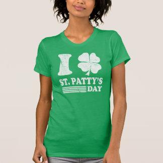 La camiseta de I de St Patrick retro del amor