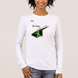 La camiseta de Jamaica Longsleeve de la voz